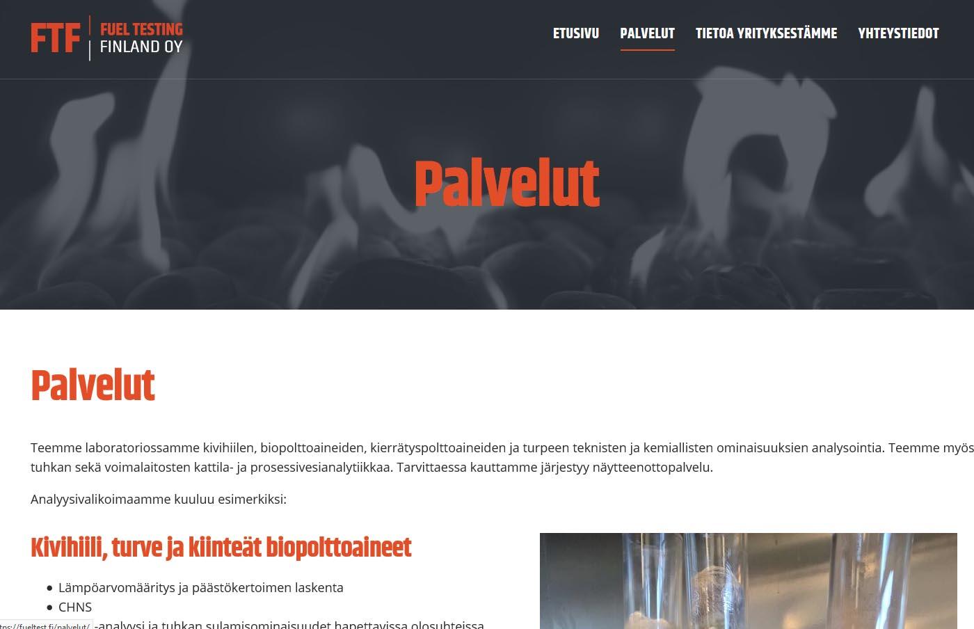 Nettisivut Uusikaupunki